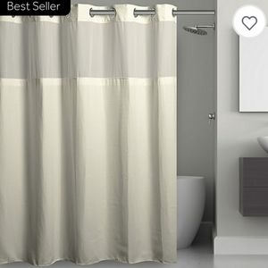NWT Hookless Shower Curtain EXTRA LONG